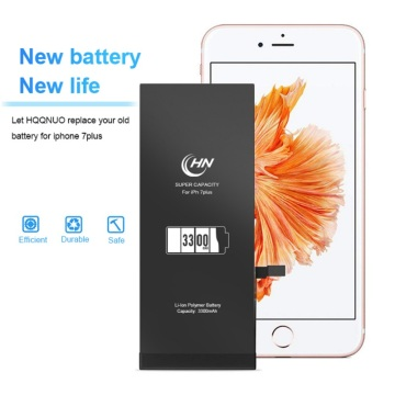 Super batterie AAA 3300mAh pour iPhone 7 Plus