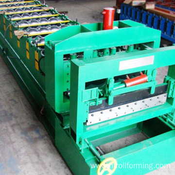 Factory OEM steel galvanized glazed roofing sheet making machine