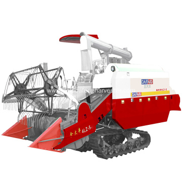 multifunctional rice harvesting with big power engine