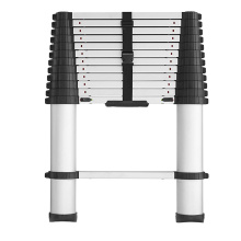 2.0m aluminum telescopic folding step ladder with EN131