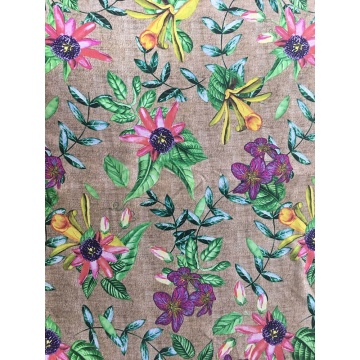 Texture Design Rayon Poplin shuttle 45S Printing Fabric