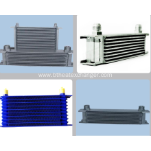 Low MOQ for for Auto Transmission Coolers Stacked Plate Aluminum Oil Cooler supply to French Polynesia Manufacturer
