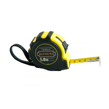 8m/25mm measuring tape rubber coatting
