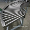 180 Degree Turning Gravity Roller Conveyor