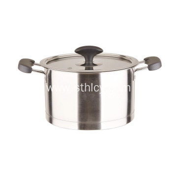 Soup Pot With Cover Stainless Steel Cookware