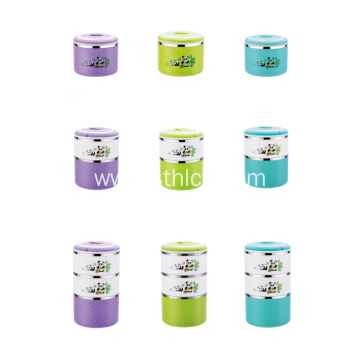 Multi-layer Stackable Bento Stainless Steel Lunch Box