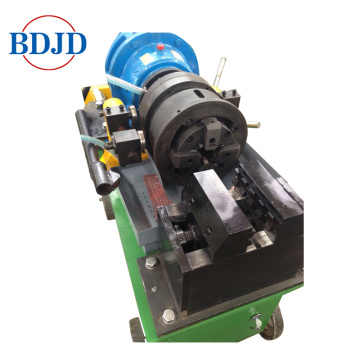 Mechanical Bar Rebar Pipe Rib Stripped Parallel Thread Rolling Machine