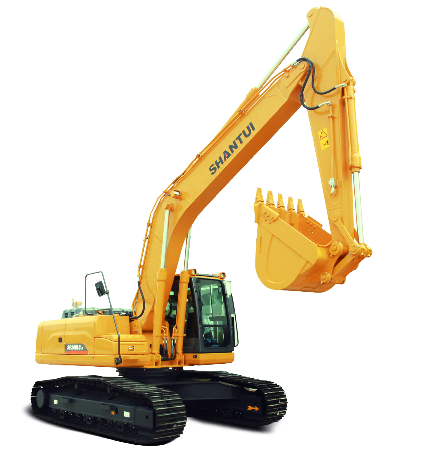Shantui Medium-Sized 24.8ton Crawler Excavator