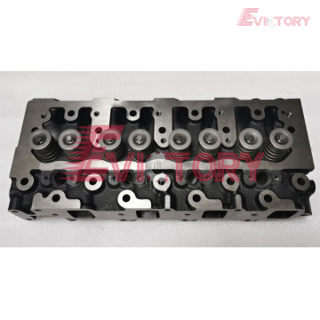 4TNE82A cylinder head block crankshaft connecting rod