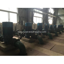 Special for Horizontal Sewage Pump, Waste Water Pump, Electric Ash Sewage Pump, Submersible Non-clog Sewage Pump in China Isg Series Vertical Piping Centrifugal Pumps export to United States Factories