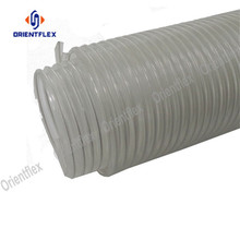 Flexible dust collection pvc steel wire duct hose