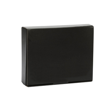 Black Custom Material Corrugated Paper Box
