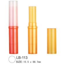 Round Cosmetic Lip Balm Tube