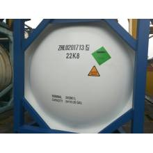Reliable for R22 Refrigerant 20 Feet Refrigerant Gas Storage ISO Tank export to Palestine Suppliers