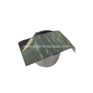 Aluminum Foil Butyl Pipeline Protection Tape
