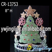 China for China Christmas Snowflake Round Crowns, Candy Pageant Crowns, Party Hats. New Design Custom Holiday Christmas Tree Crowns export to United States Minor Outlying Islands Factory