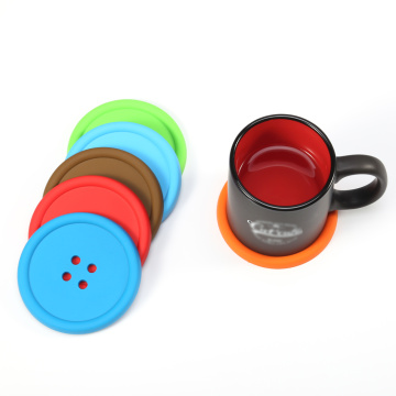 Comfortable new design silicone custom coaster