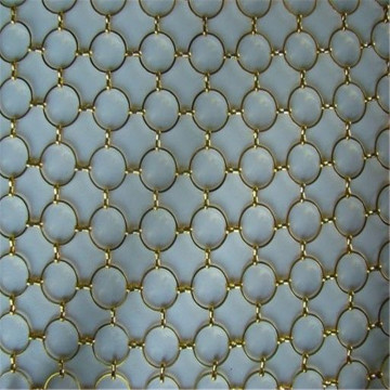 super quality ring weaving decorative mesh