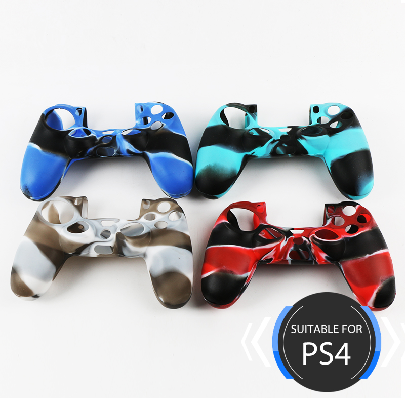 Soft Silicone PS4 Remote Case Camo