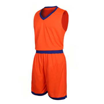Unifrom de baloncesto de entrenamiento de color caramelo simple