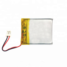Rechargeable li-po battery 500mah for GPS tracker