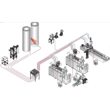 Extusion blow molding system