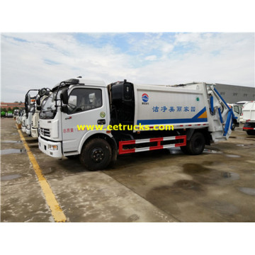 Dongfeng 6cbm Compression Refuse Trucks