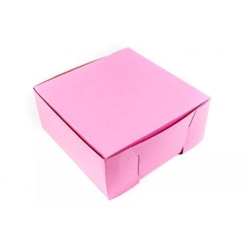 wholesale custom paper dessert donut packaging box