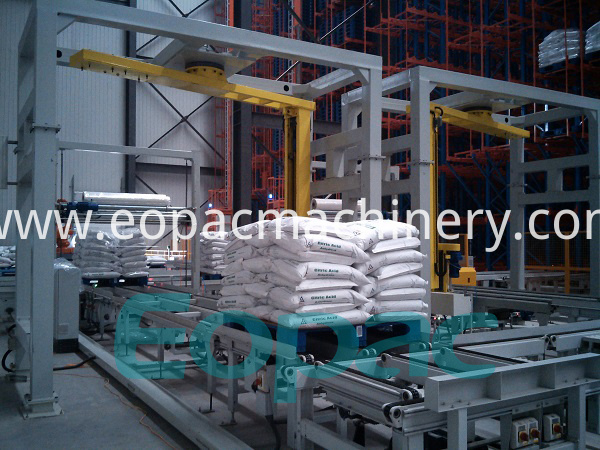 Automatic Rotary Arm Stretch Wrapping Line