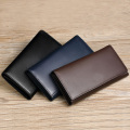 High End Leather Tripleted Card Holders Wallets