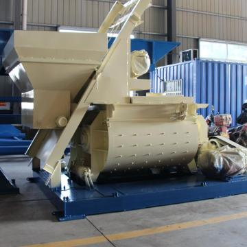 JS1500 stationary double concrete mixer for in Namibia