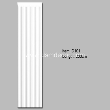 PU Pilaster Definition Architecture
