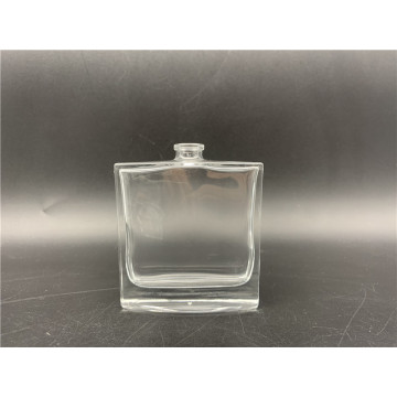 50ml Popular Clear Luxury Perfume Glass Square Bottle
