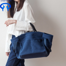 Factory Free sample for Large Cotton Tote Bag Canvas women's shoulder bag supply to India Factory