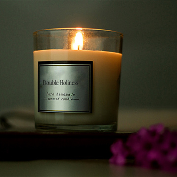Romantic soy wax essential oil scent aroma candle