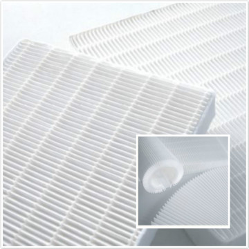 PP Mini Pleat Filter Media