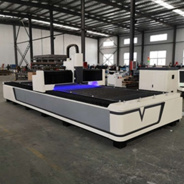 Fiber laser cutter machine for tube and profiles