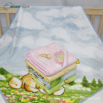 Reliable Supplier for Terry Blanket Printed Double Gauze Wrap Terry kid Blanket supply to Germany Suppliers
