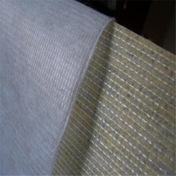 Coating stitch bonded non woven fabric