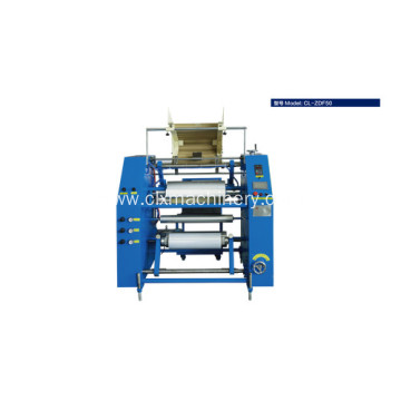 Auto preservative film rewinder machine