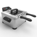 Large Deep Fryer With Basket And Timer