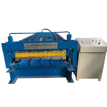 Double layer building material machinery