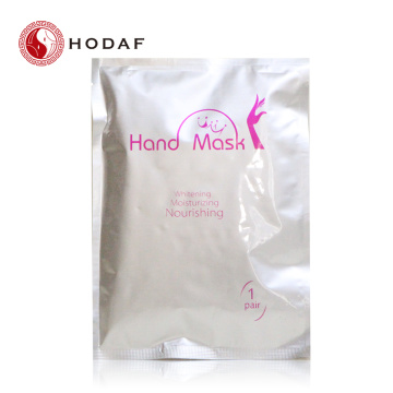Rose nourishing hand mask for whitening hands