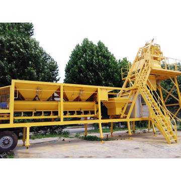 Skip Type Mobile Concrete Batching Plant