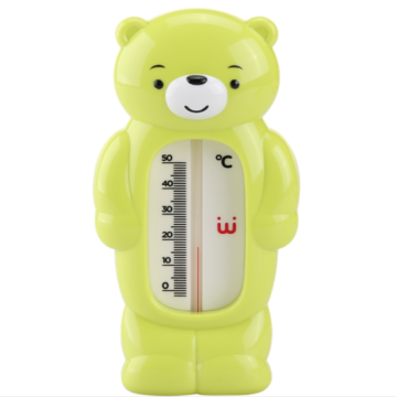 A0325 Cartoon Bear Baby Accessory Bathing Water Thermometer
