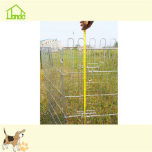Galvanized simple outdoor metal playpen