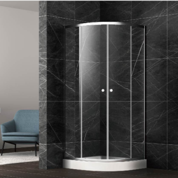 Clear Glass Affordable Shower Doors Enclosure