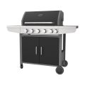Five Burner With Side Burner Gas BBQ Grill