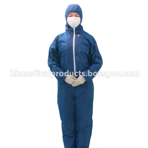 Professional Manufacturer for for Isolation Gown SMS Laminated Fabric Coverall export to Mongolia Supplier