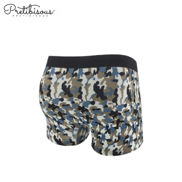 Printed fashion underwear boxer shorts for men